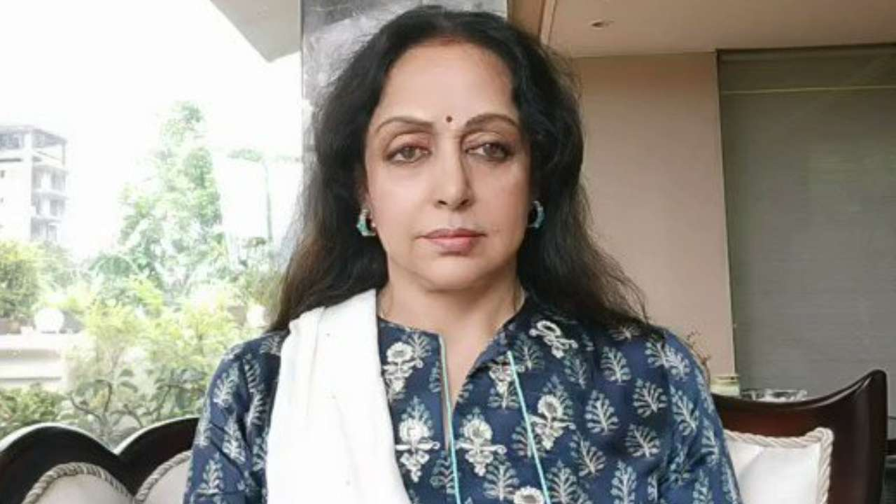 Video Hema Malini Assures Well Wishers She Is Perfectly Alright By The Grace Of Lord Krishna On Ill Health Rumours