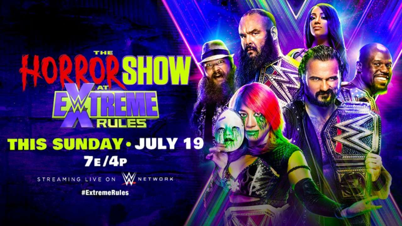Wwe Extreme Rules 2020 Matches Date Start Time When Where To Watch In India
