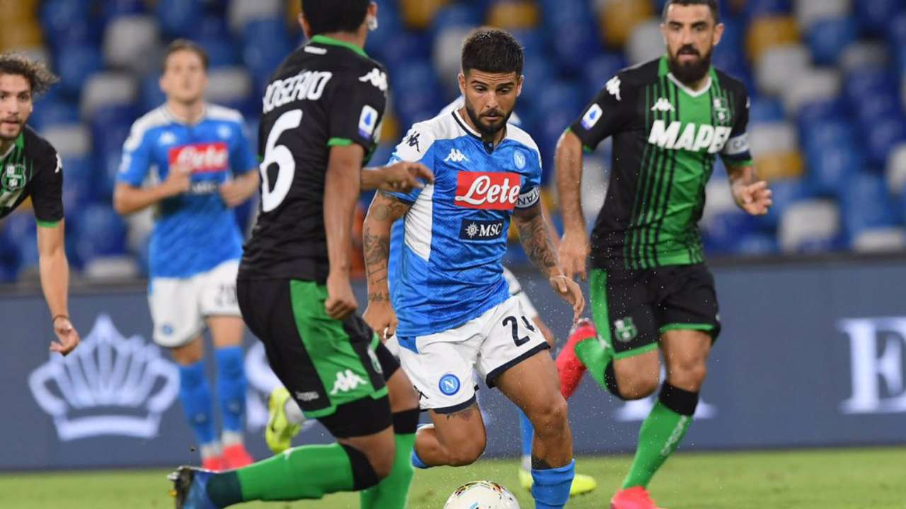 Napoli vs Sassuolo | VAR plays spoilsport, disallows four Sassuolo goals in  2-0 defeat to Napoli