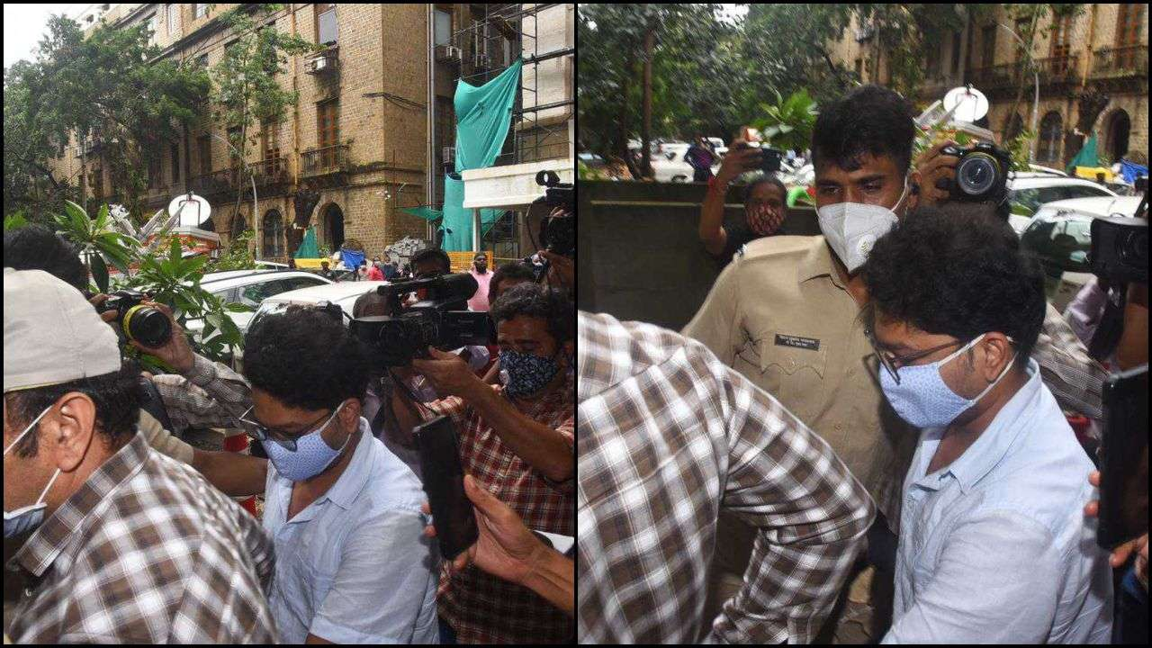 Sushant Singh Rajput death case: Siddharth Pithani arrives at ED office