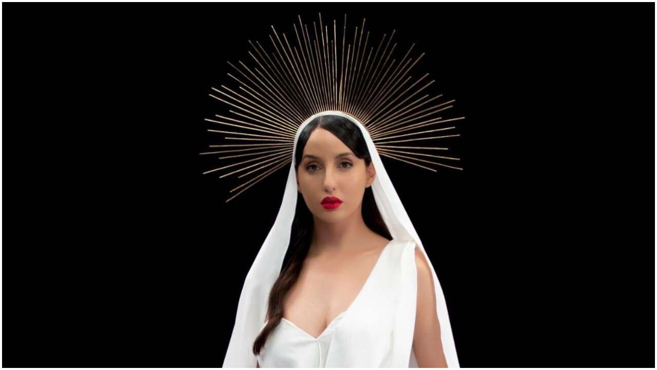 Nora Fatehi looks ethereal in first look of T-Series music video, female version of Vicky Kaushal starrer 'Pachtaoge'