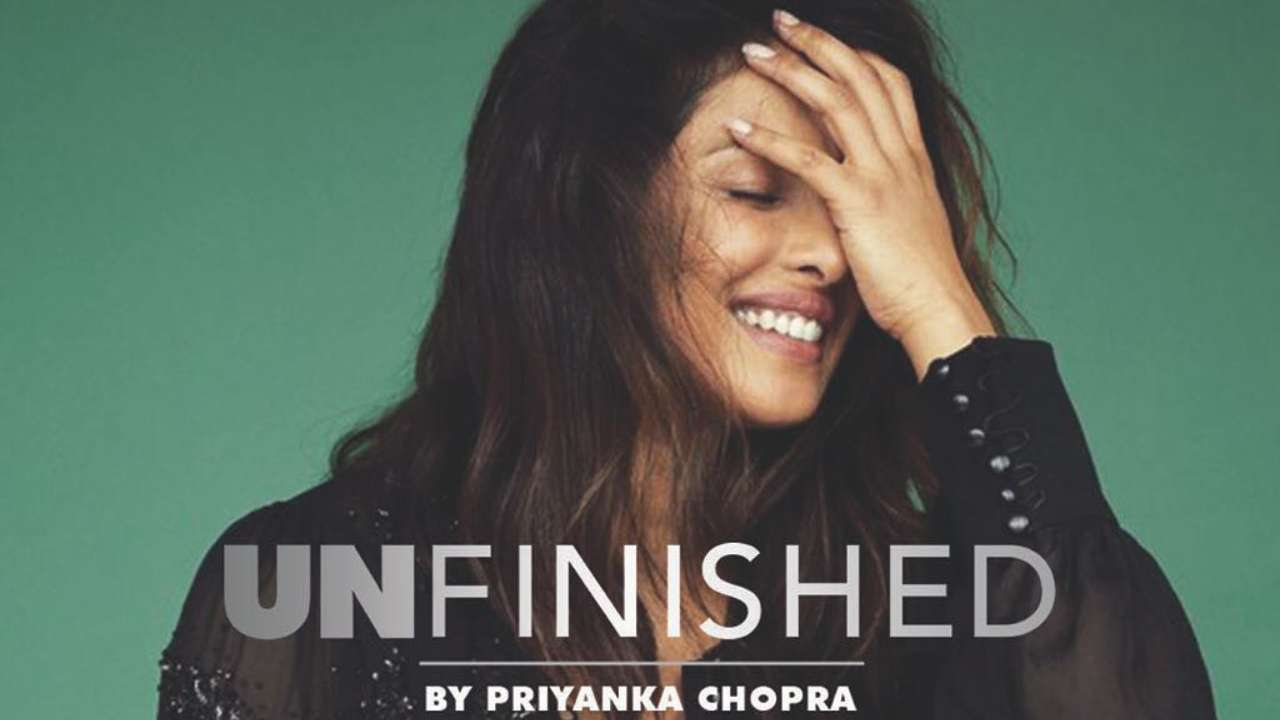 Priyanka Chopra finishes writing her memoir 'Unfinished'