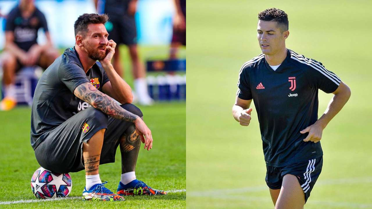 Messi Ronaldo Lionel Messi Cristiano Ronaldo To Miss Champions League Semis For First Time In 15 Years Football News