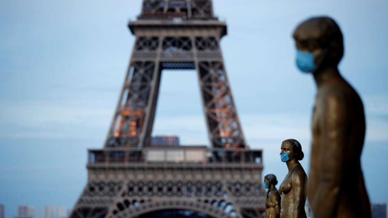 Coronavirus Outbreak France Declares Paris As High Risk Zone For Covid 19 Infection