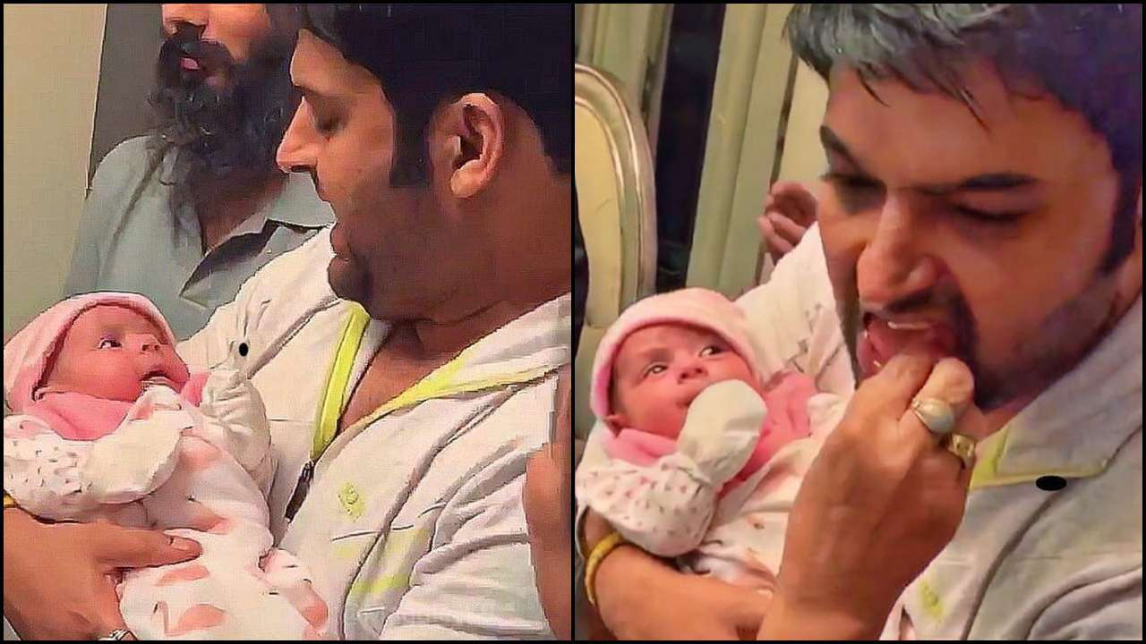 Kapil Sharma's latest picture with daughter Anayra Sharma is too adorable for words