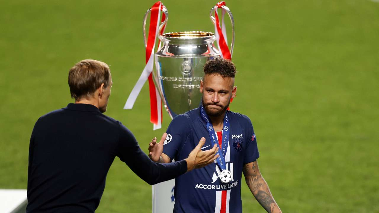 We Try Everything We Fight Until The End Psg S Neymar Congratulates Bayern Munich On Winning Champions League