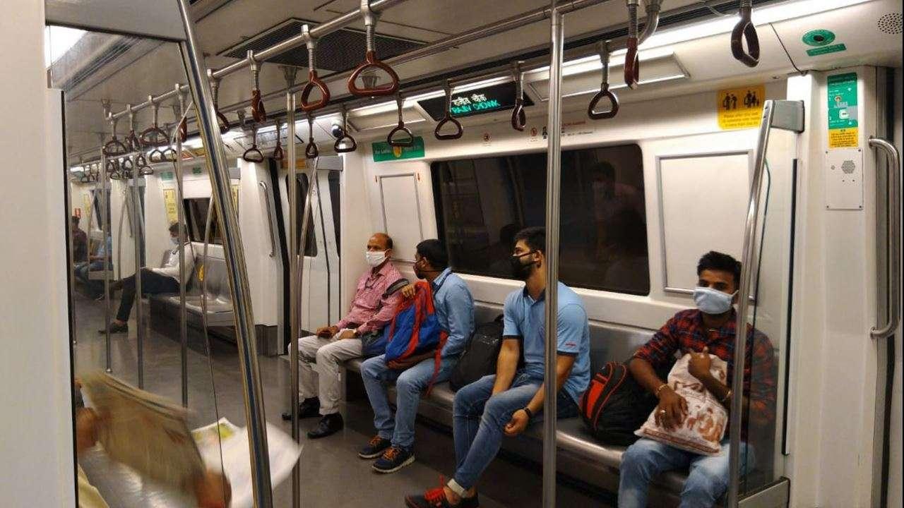 Line metro red Single tracking,