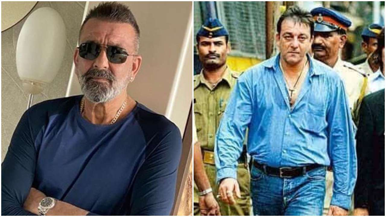 In Pics: The curious case of Sanjay Dutt wearing colour blue to important  events of his life