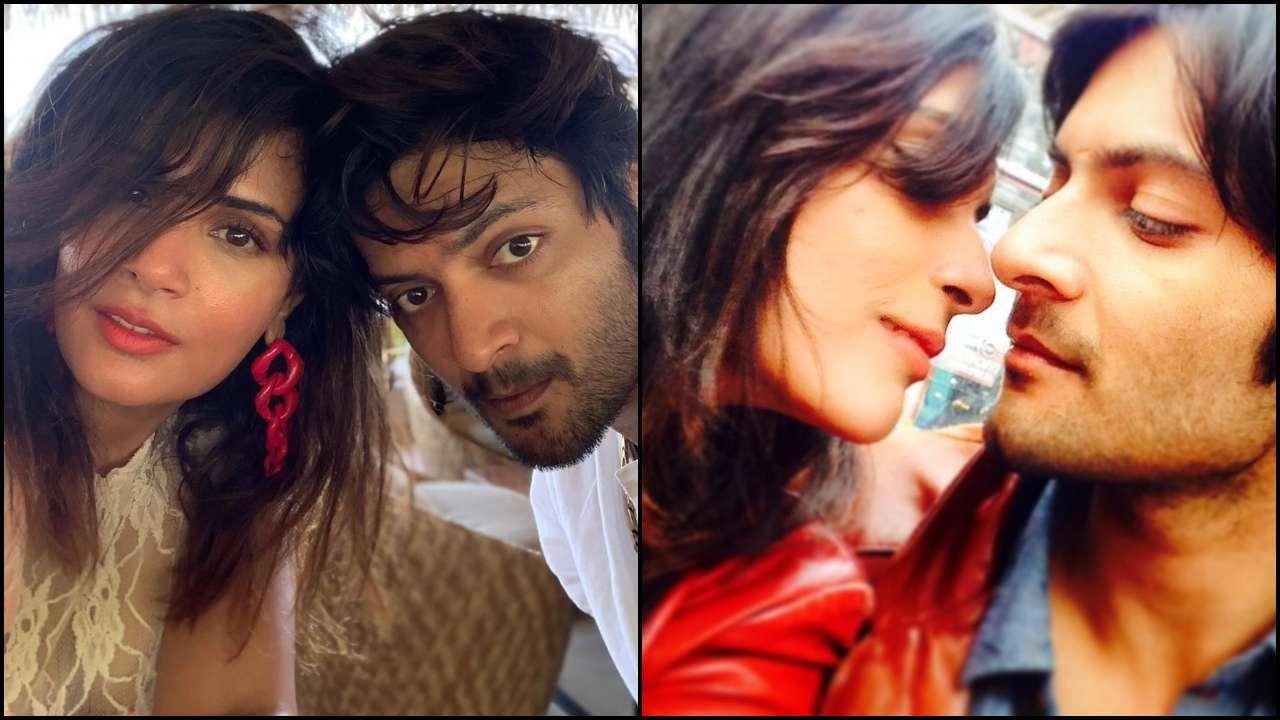 Ali Fazal gets mushy with 'saathi' Richa Chadha in the latest photo