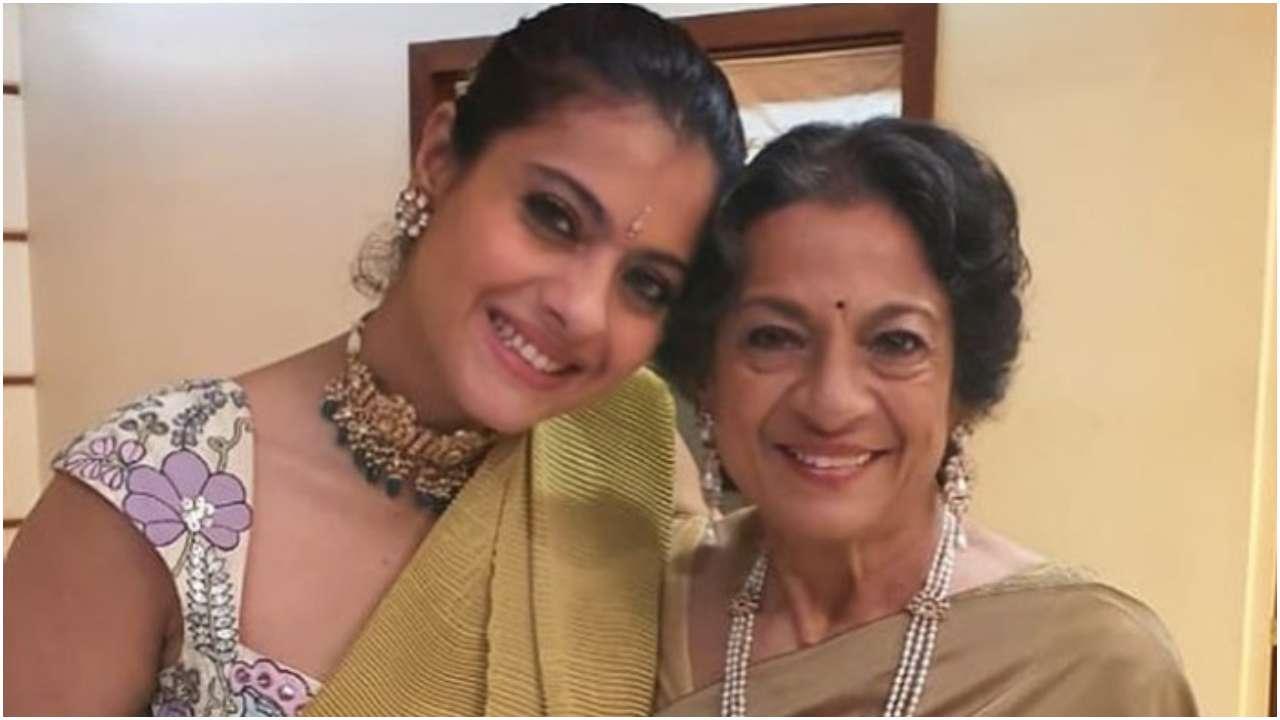Kajol Shares Heartfelt Birthday Message For Mother Tanuja Tanishaa Mukerji Shares Family Pics