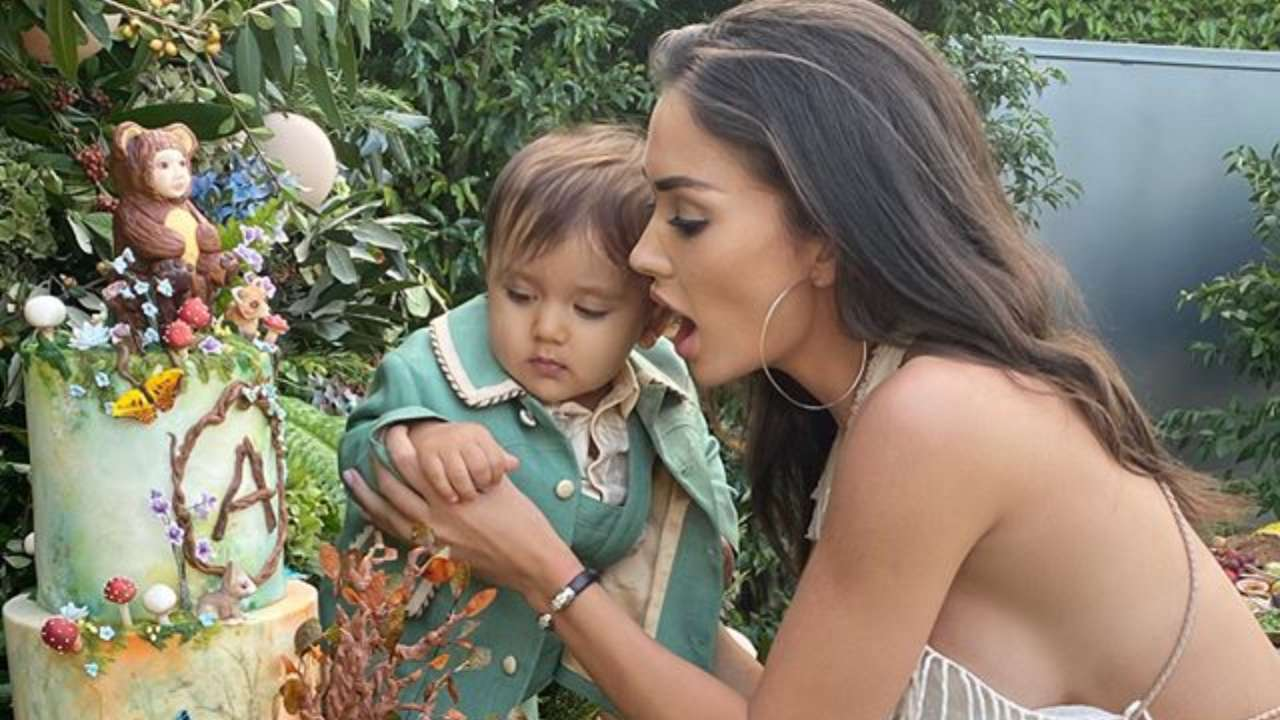 Watch: Amy Jackson hosts enchanted garden party for son Andreas' first birthday