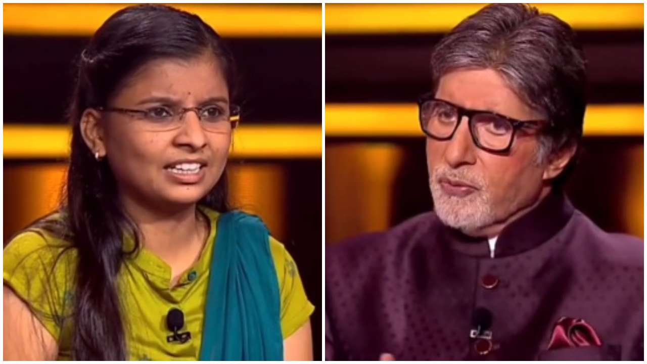 KBC 12: Answer to Rs 25 lakh question Asmita Madhav Gore quit on in Amitabh Bachchan's show - DNA India