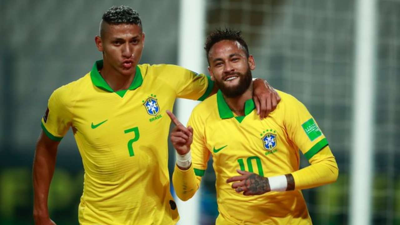 Neymar Breaks Ronaldo S Record With Hat Trick For Brazil Vs Peru In 2022 Fifa World Cup Qualifiers