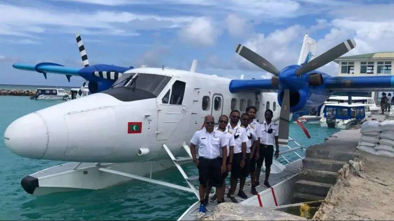 Seaplane from Maldives lands successfully at Kochi on way to Gujarat