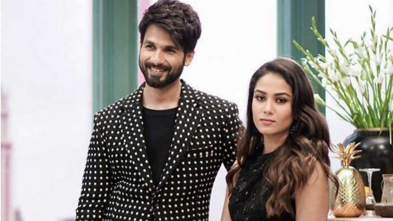 Shahid Kapoor Mira Rajput make blurry look beautiful in this selfie