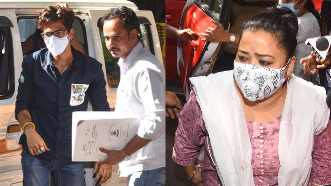 After raids at home, NCB questions comedienne Bharti Singh, husband Harsh  Limbachiyaa