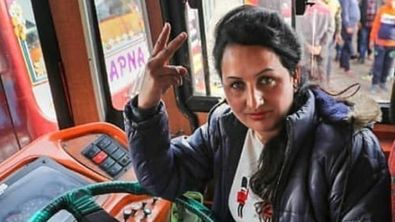 Breaking stereotypes: Meet Pooja Devi, Jammu and Kashmir's first female bus driver