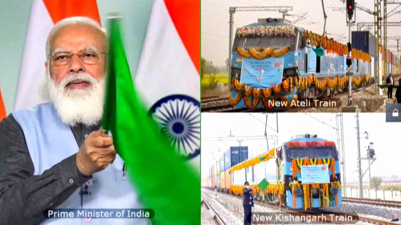 Freight corridors will help in development of new growth centres in India:  PM Modi