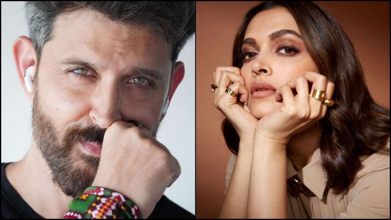 Fighter': Hrithik Roshan-Deepika Padukone come together for the first time