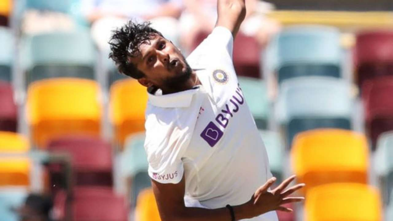 T Natarajan strikes on debut with wickets of Matthew Wade and Marnus  Labuschagne to put India back in Brisbane Test
