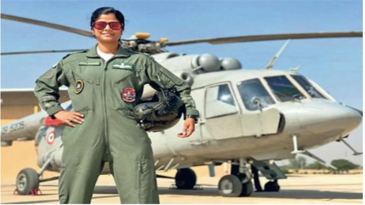 All about Swati Rathore, first woman to lead Republic Day parade flypast