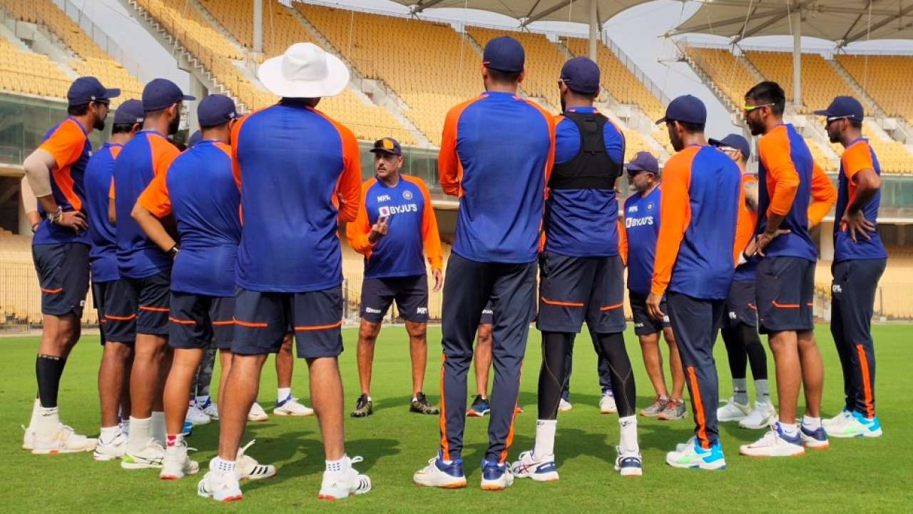 IND vs ENG: Coach Ravi Shastri gives a rousing welcome address as hosts begin net sessions