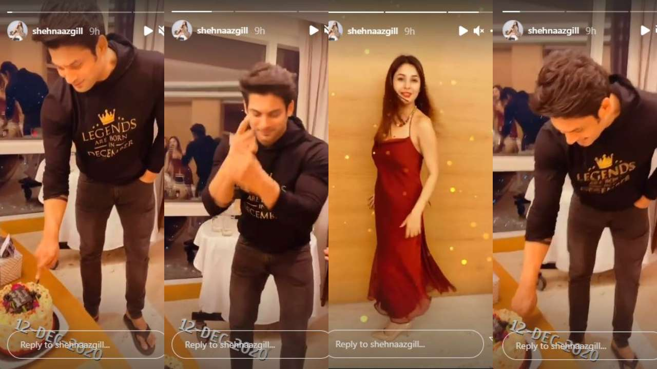 When Sidharth Shukla celebrated his birthday with Shehnaaz Gill