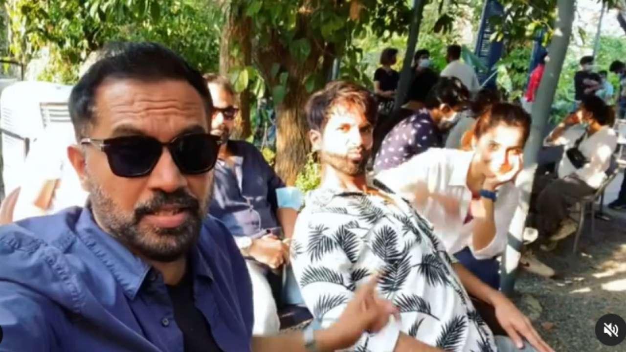 Shahid Kapoor's hilarious 'Pawri Ho Rahi Hai' video with Raj & DK, Raashi Khanna has Akshay Kumar twist
