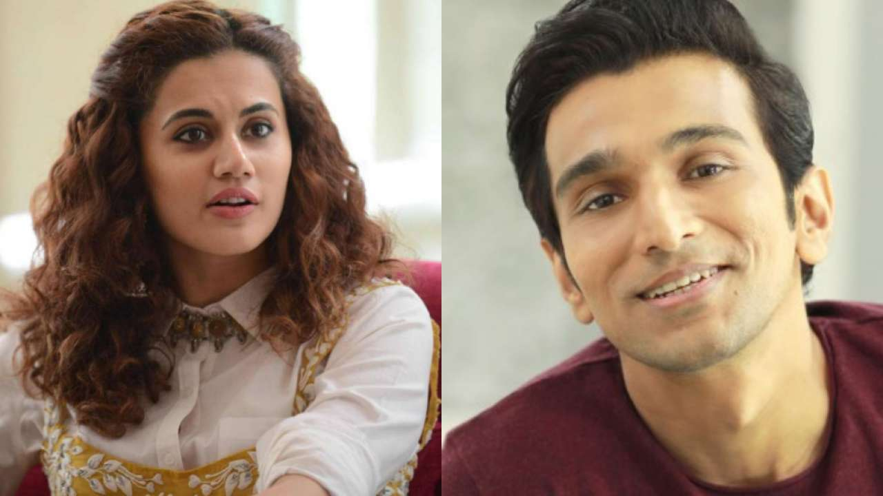 Image result for Taapsee Pannu and Pratik Gandhi to go in search of a missing girl in Woh Ladki Hai Kahaan