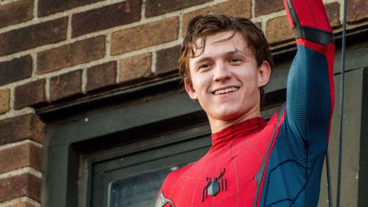 """Tom Holland as Peter Parker in """"Spider-Man: Homecoming"""" (2017)"""