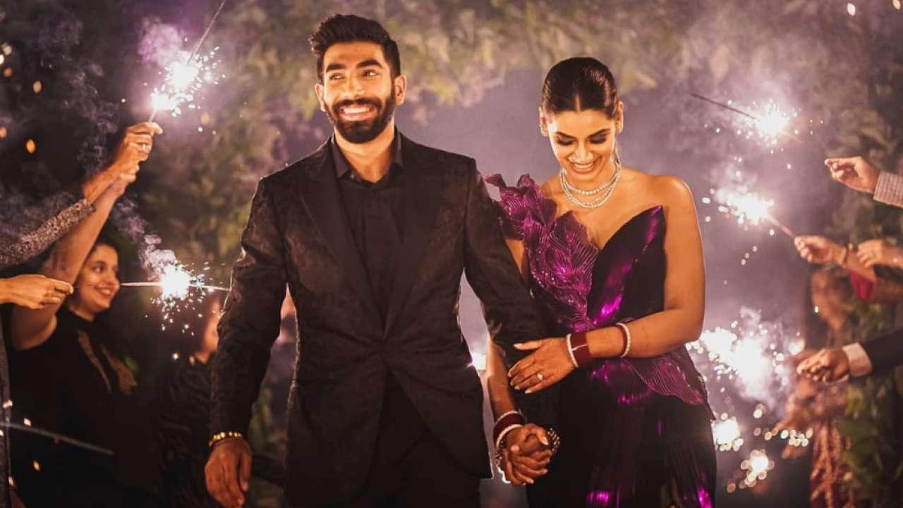 Jasprit Bumrah calls wedding with Sanjana Ganesan 'absolutely magical', shares pics