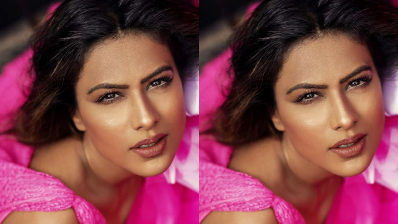Nia Sharma rocks bold makeup look