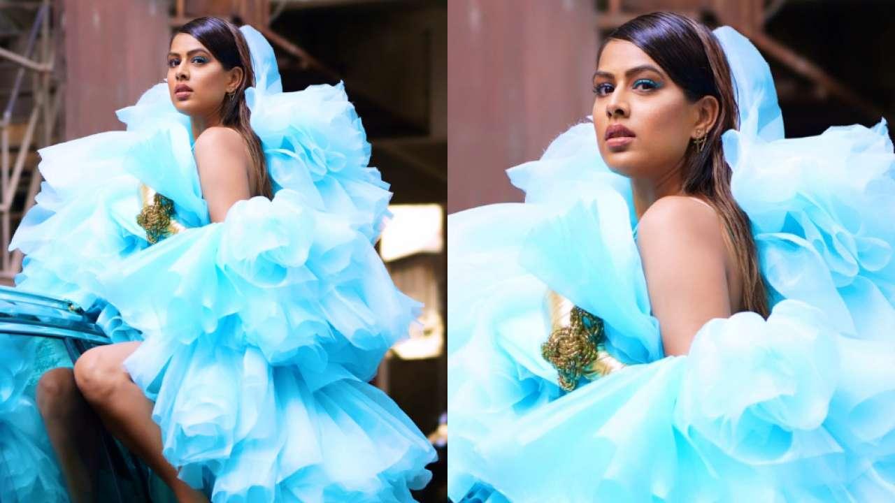 After Sara Ali Khan, Nia Sharma rocks a blue tulle dress in style