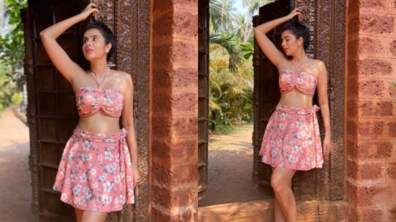 Charu Asopa enjoys Goa stay-cation