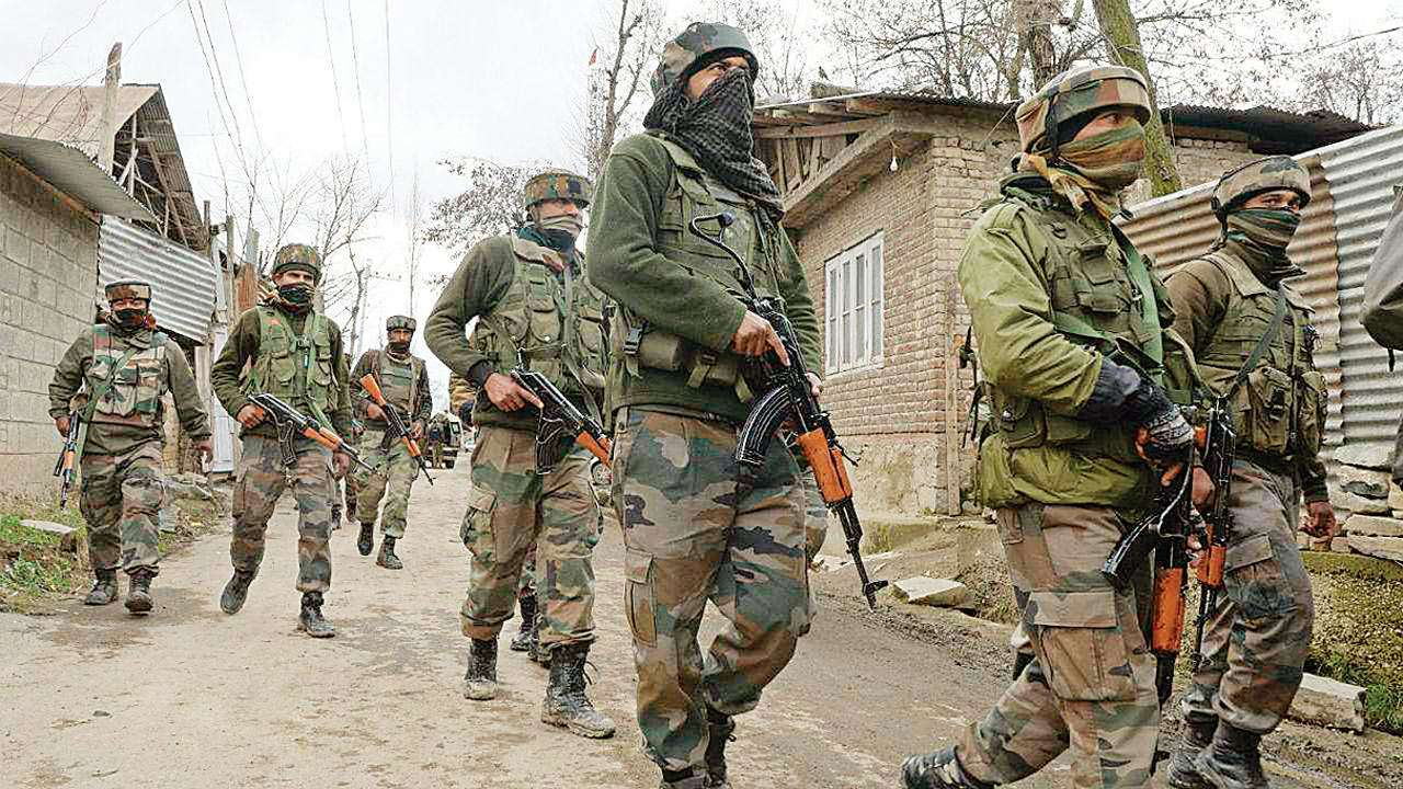 J-K: Security forces kill seven terrorists including AGH chief Imtiyaz Shah in twin encounters