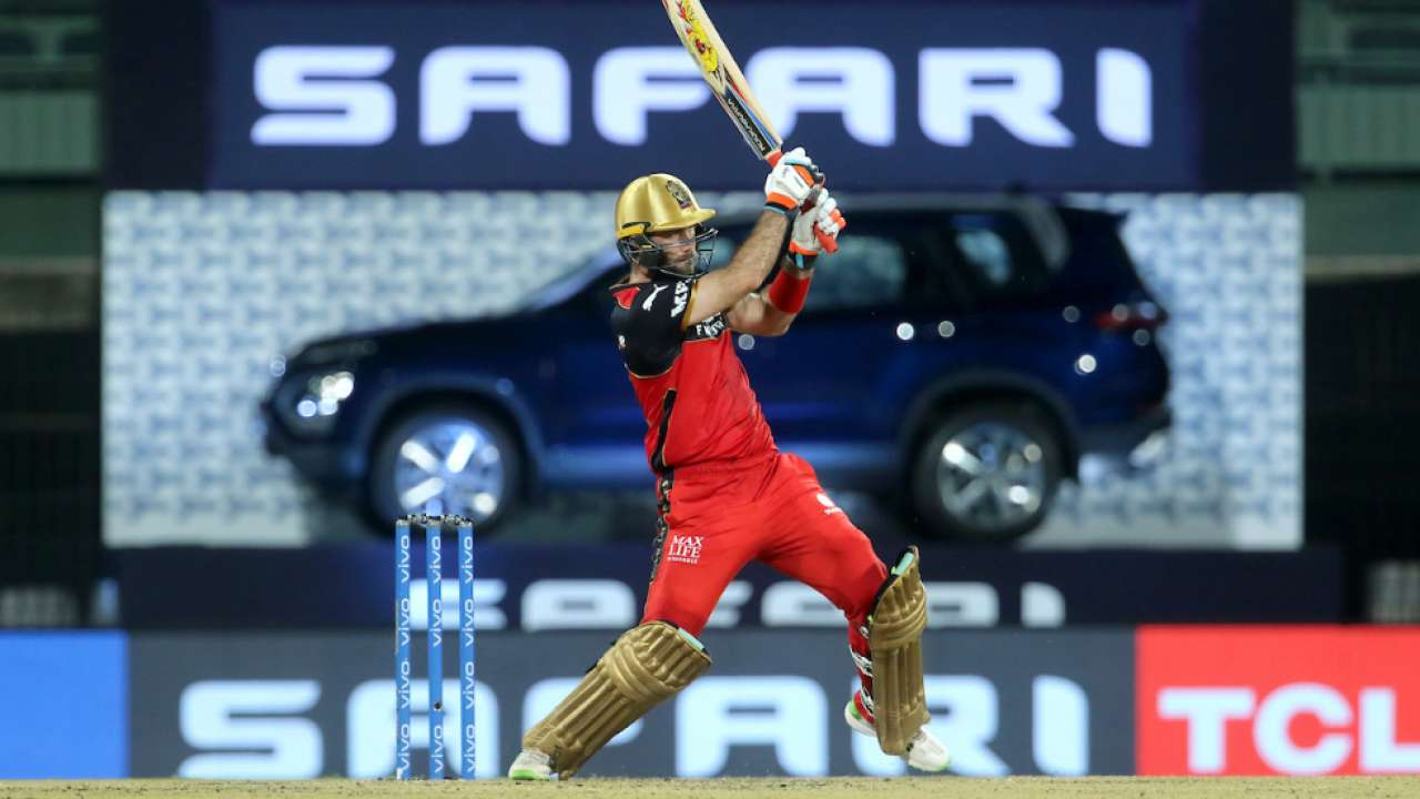 IPL 2021: 50 after five years for Glenn Maxwell against Sunrisers Hyderabad