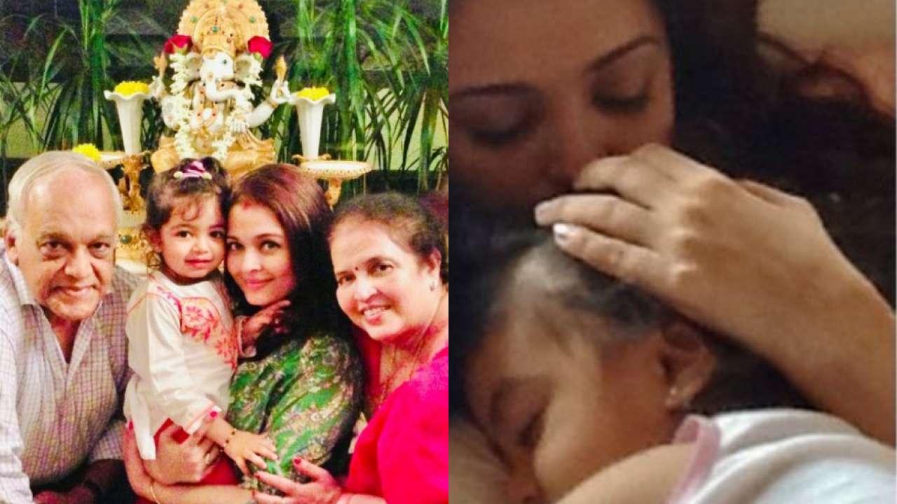 Mother's Day 2021: Aishwarya Rai Bachchan cuddles baby Aaradhya Bachchan in sweet throwback photo