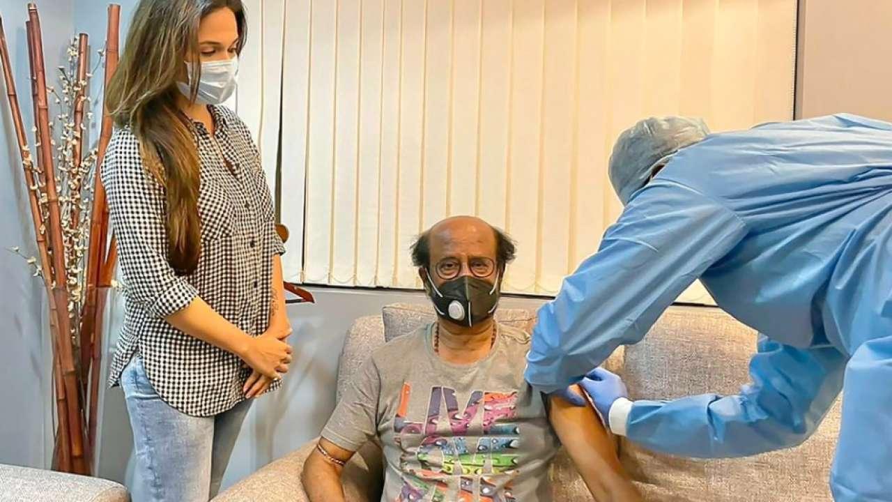 'Thalaivar' Rajinikanth gets his COVID-19 vaccine, daughter Soundarya shares photo