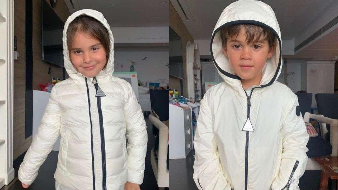 Karan Johar's twins Yash and Roohi 'prep for monsoon', filmmaker shares adorable photos