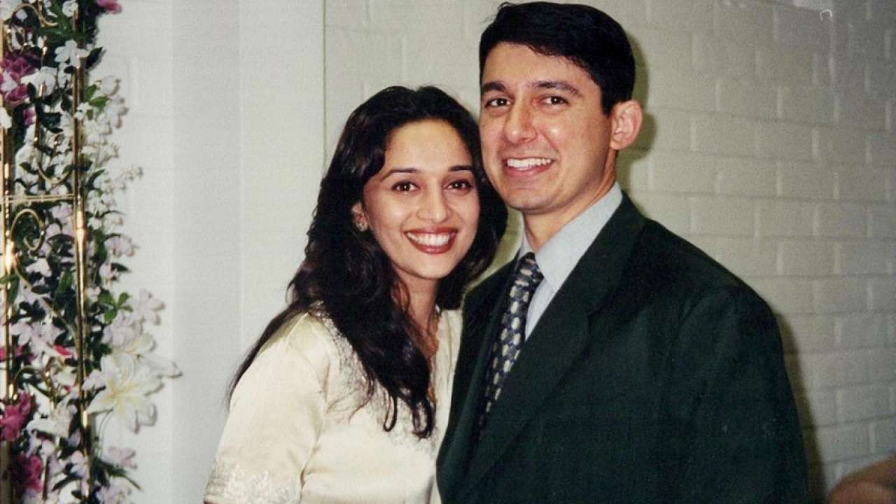 Madhuri Dixit's husband Shriram Nene shares unseen photo clicked a day before their wedding to wish her on birthday