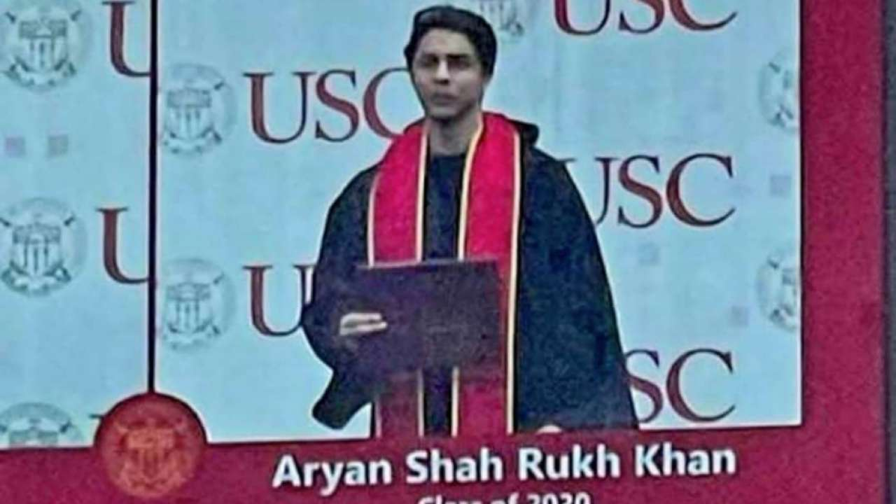 Shah Rukh Khan-Gauri Khan's son Aryan Khan graduates from USC, photo goes viral