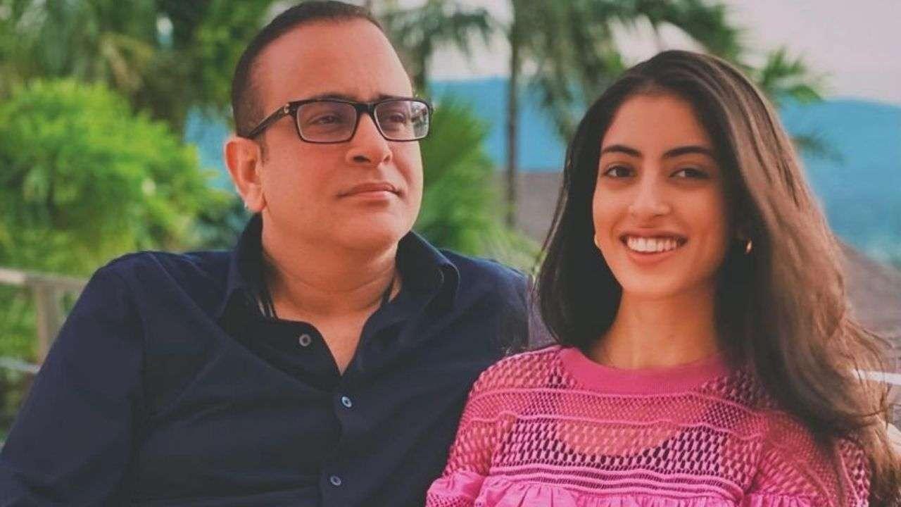 'No one like you': Navya Naveli Nanda shares adorable throwback photo with dad Nikhil Nanda ahead of Father's Day 2021