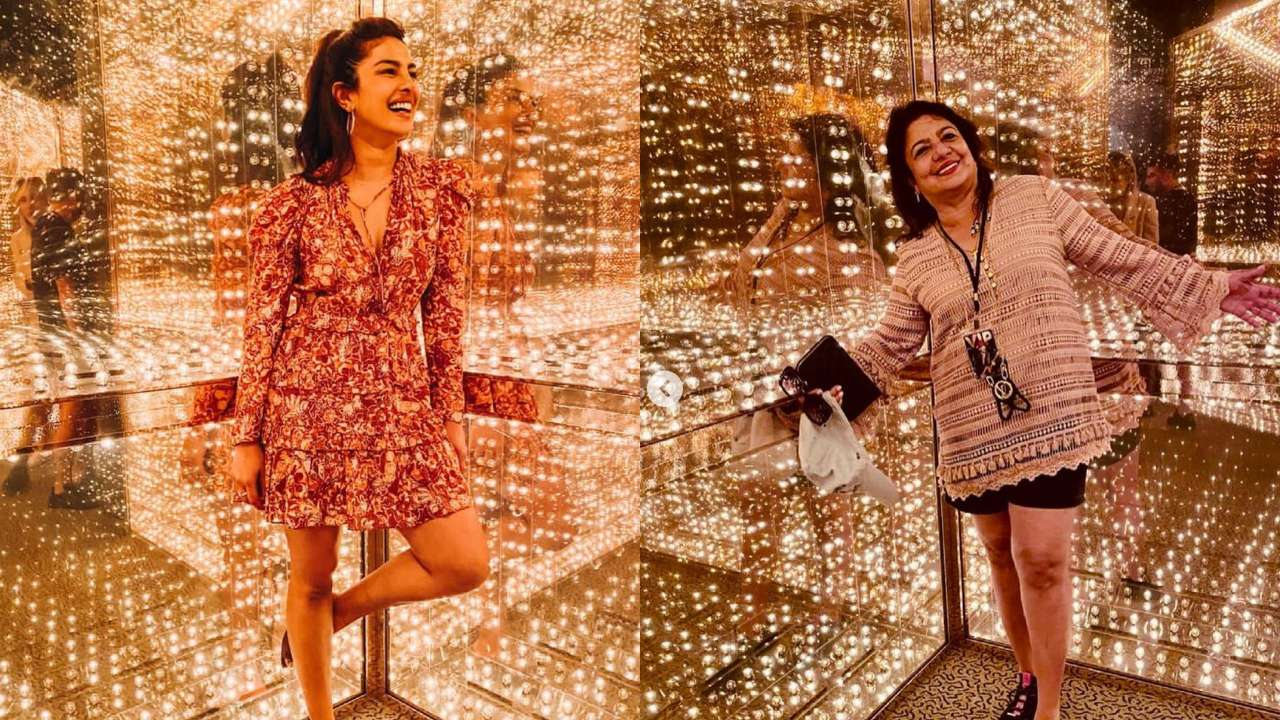In Pics: Priyanka Chopra Jonas visits Rock and Roll Hall of Fame Museum with her mother, Madhu Chopra