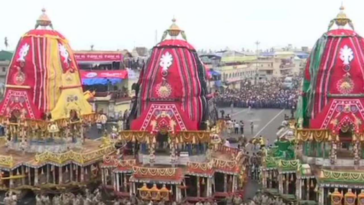 Dates, shubh muhurats, and schedule of the Jagannath Yatra 2021