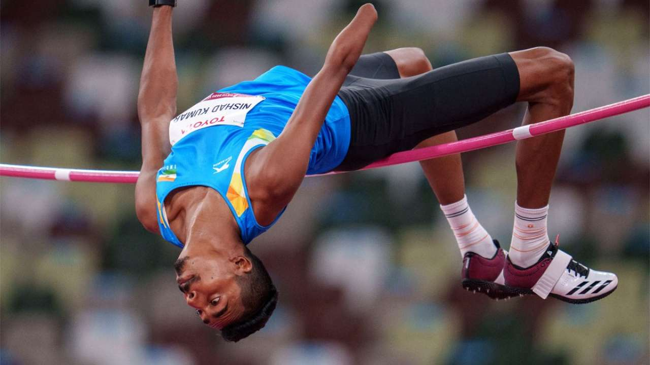 Nishad Kumar Won Silver Medal in Men's High Jump: School Megamart 2021