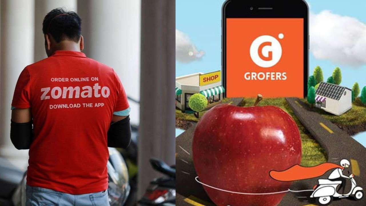 Zomato, Grofers
