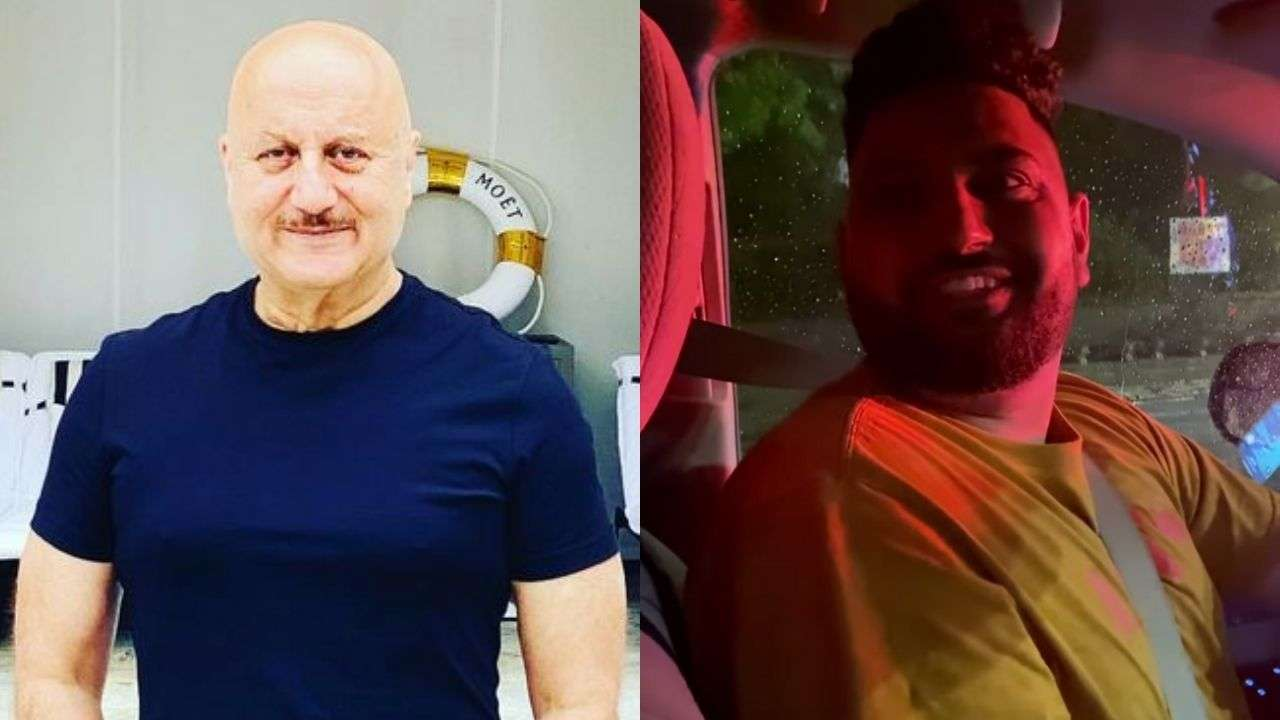 Anupam Kher shares video of elated cab driver in New York who failed to recognise him initially – watch