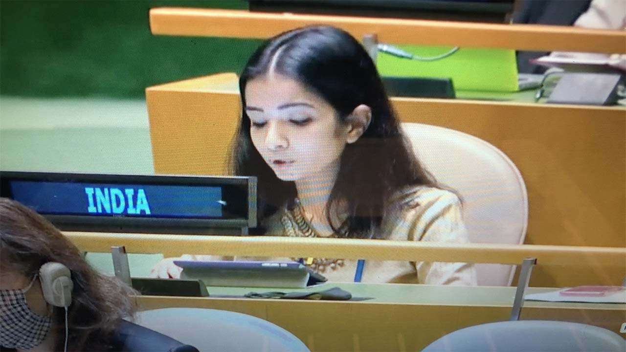 Meet Sneha Dubey, the diplomat whose fiery response to Pakistan at the UN  has gone viral