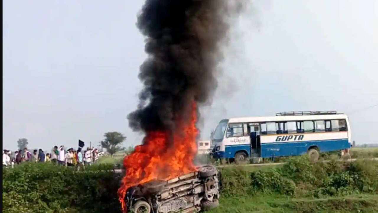 Lakhimpur Kheri violence: Farmers to stage protest today after 8 die in  violent clash