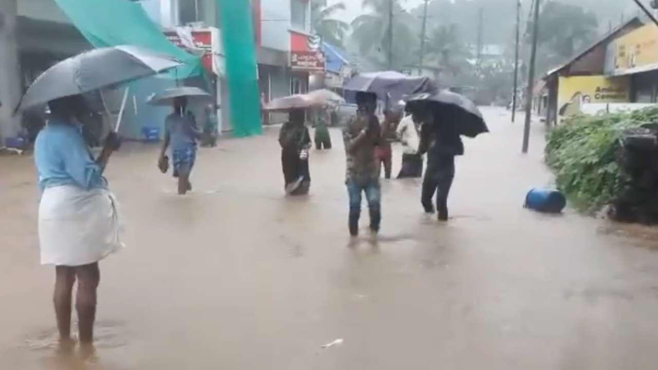 Kerala Rain update: IMD issues red alert in 5, orange alert in 7 districts